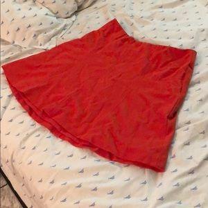 Reds line j crew skater skirt size 8